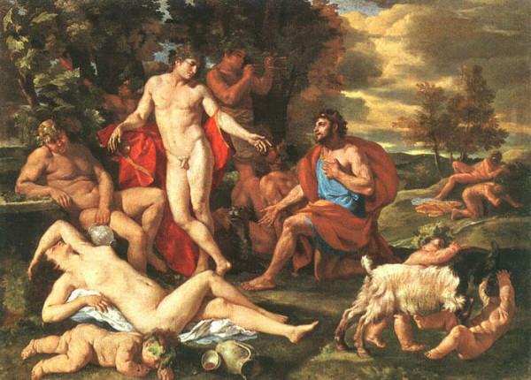 Dioniso, Baco – Alegria, Êxtase e Entusiamo.