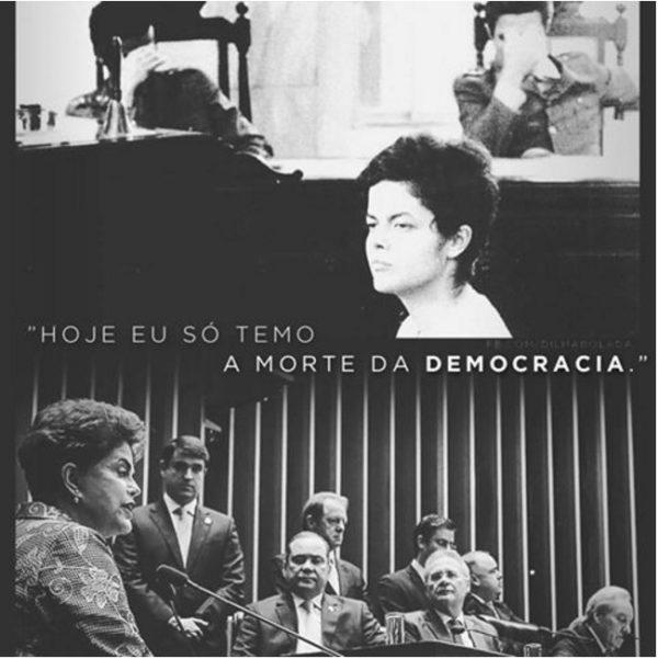 Dilma, A Destemida.