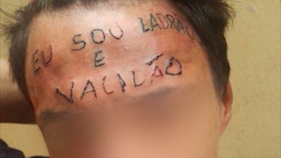 Barbárie: Escrachos, Tatuagem, Sra Leitão.
