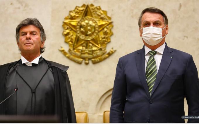 Bolsonaro ameaça o STF, o vento e os fantasmas.